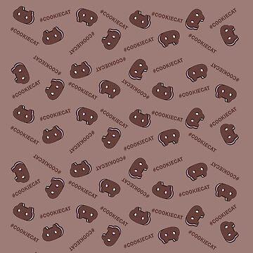 Cookie Cat Pattern by ILoveSteven