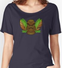 Tiki of the Black Lagoon Women's Relaxed Fit T-Shirt