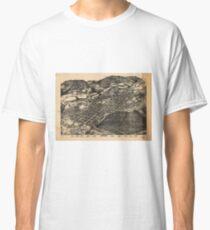Vintage Pictorial Map of Aspen Colorado (1893) Classic T-Shirt