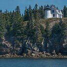 Bear Island Light House, Maine by Gerda Grice