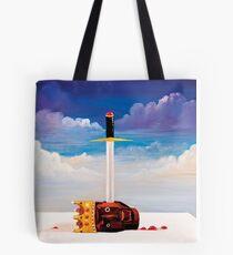 kanye west beautiful dark twisted fantasy head Tote Bag