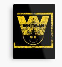 Whitman Comics Retro Logo Metal Print