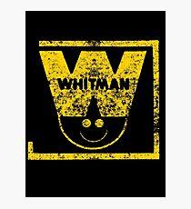 Whitman Comics Retro Logo Photographic Print