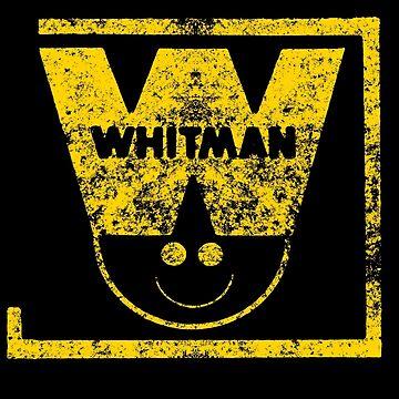 Whitman Comics Retro Logo by DamienOujia