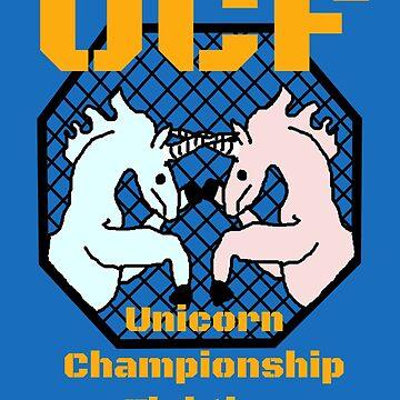 Unicorn Championship Fighting by Birchmark