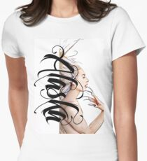 Alaska -Graph Womens Fitted T-Shirt