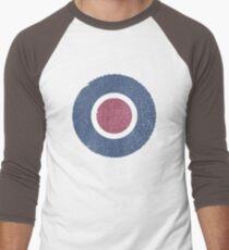 Vintage Look WW2 British Royal Air Force Roundel Men's Baseball ¾ T-Shirt