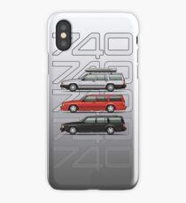 Volvo 740 745 Turbo Wagon Trio iPhone Case/Skin