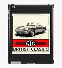 British MG Classic iPad Case/Skin