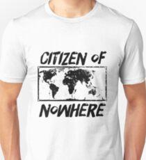 Citizen of Nowhere - v3 T-Shirt