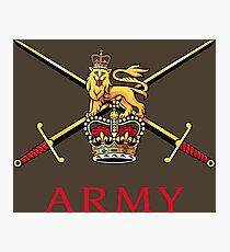 British Army Photographic Print