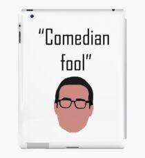 Comedian Fool iPad Case/Skin