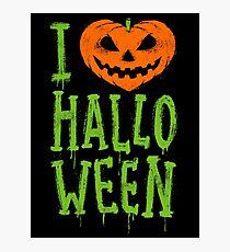 Love Halloween Photographic Print