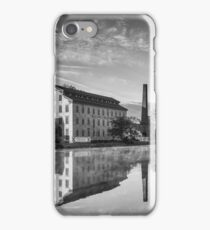 B&W Knitting Mill iPhone Case/Skin