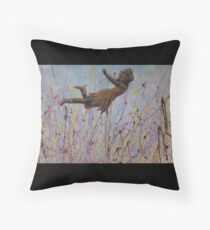 Field Of Dreams by Donna Williams Throw Pillow