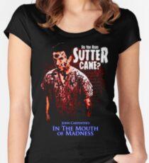 Sutter Cane John Carpenter Horror Movie T-Shirt Women's Fitted Scoop T-Shirt