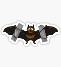 Do-It-Yourself Bat Logo Sticker