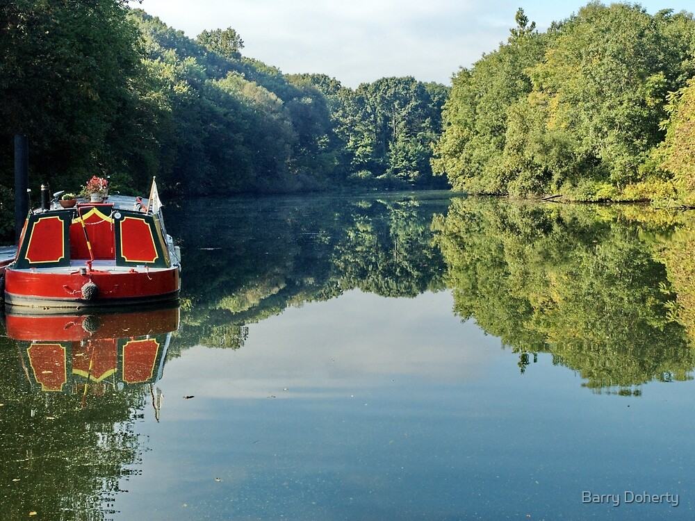 River Boat by Barry Doherty