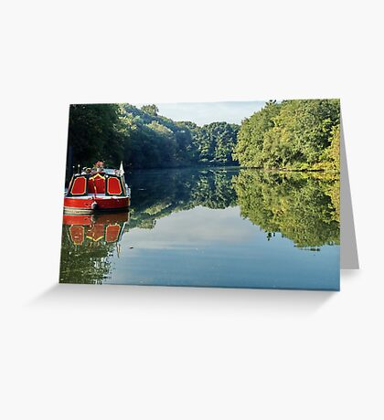 River Boat Greeting Card