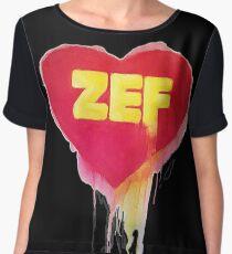 So Zef Chiffon Top