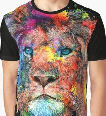 Löwe Grafik T-Shirt