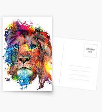 Löwe Postkarten