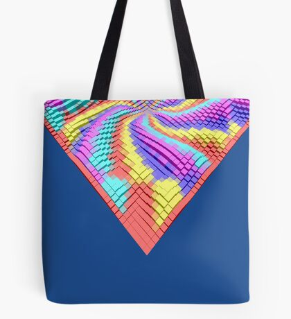 Cube Hero #Fractal Tote Bag