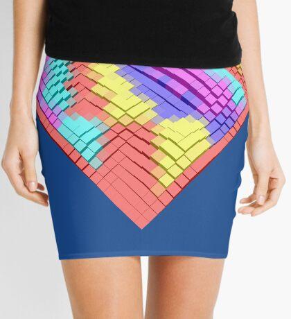 Cube Hero #Fractal Mini Skirt