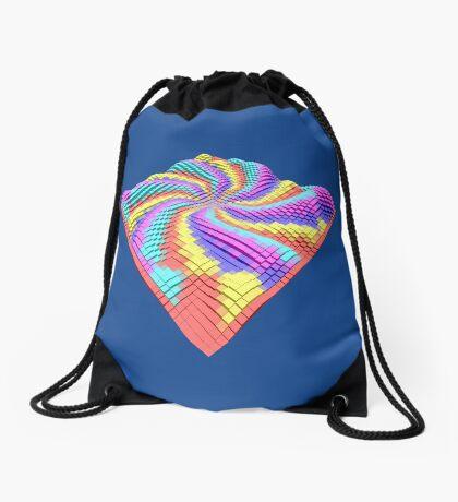 Cube Hero #Fractal Drawstring Bag