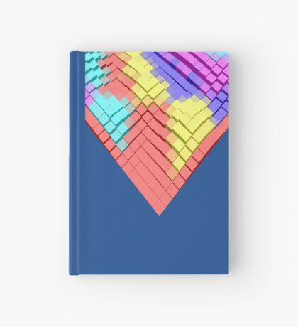 Cube Hero #Fractal Hardcover Journal