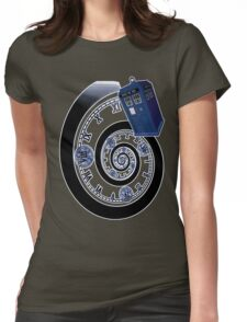 The Twelfth Doctor - time spiral Womens Fitted T-Shirt