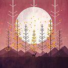 Sunset Mountain by annisatiarau