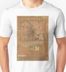Vintage Map of Beijing China (1914) Unisex T-Shirt