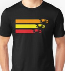 TRON LIGHT CYCLE RACING (2) T-Shirt