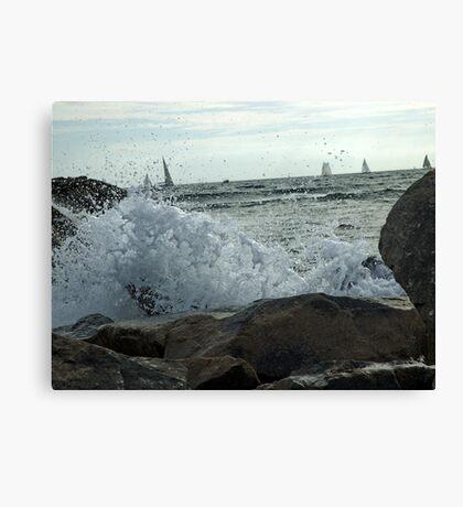 Quiet Sail Canvas Print