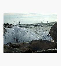 Quiet Sail Photographic Print