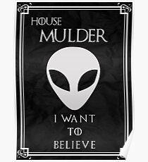 House Mulder Poster