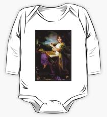 GYPSY MYSTIC; Tarot Reader Advertising Print One Piece - Long Sleeve