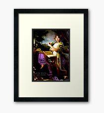 GYPSY MYSTIC; Tarot Reader Advertising Print Framed Print