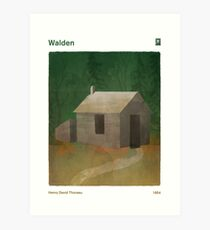 Walden - Henry David Thoreau Art Print