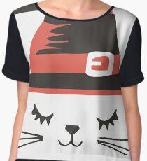 Cat halloween Chiffon Top