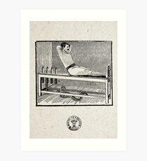 EJERCICIOS PARA ALEJAR LAS TENTACIONES (EXERCISES TO KEEP AWAY THE TEMPTATIONS) Art Print