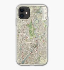 Vintage Map of Berlin Germany (1905) iPhone Case