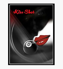 Kiss Shot Photographic Print