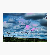 Surreal Clouds Fotodruck