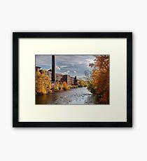 Ashton Mills (in Autumn) Framed Print
