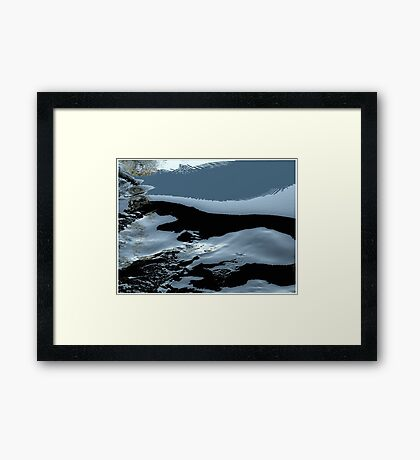 Transition Framed Print