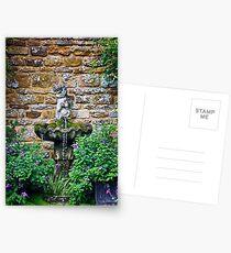 Garden Fountain Postcards
