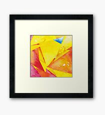 Guess who Framed Print