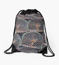 Lobster Pots Drawstring Bag
